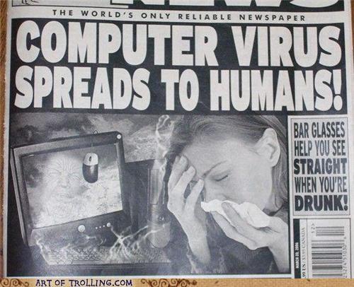 computer,humans,virus