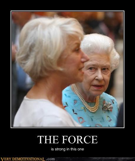 england,hilarious,royalty,star wars,the force,the queen