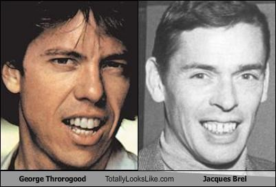George Thorogood Totally Looks Like Jacques Brel