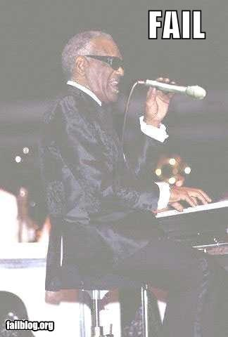 backwards,blind,classic,failboat,g rated,microphone,Music,ray charles