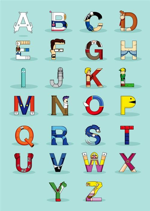 Alphabet of the Day