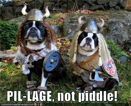 PIL-LAGE, not piddle!