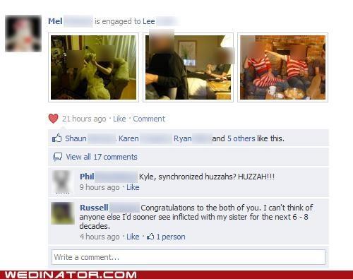 facebook,funny wedding photos,siblings