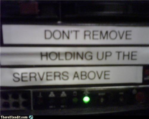holding it up,it,Professional At Work,tech support
