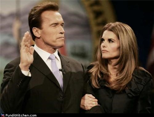 Arnold Schwarzenegger,Maria Shriver,political pictures