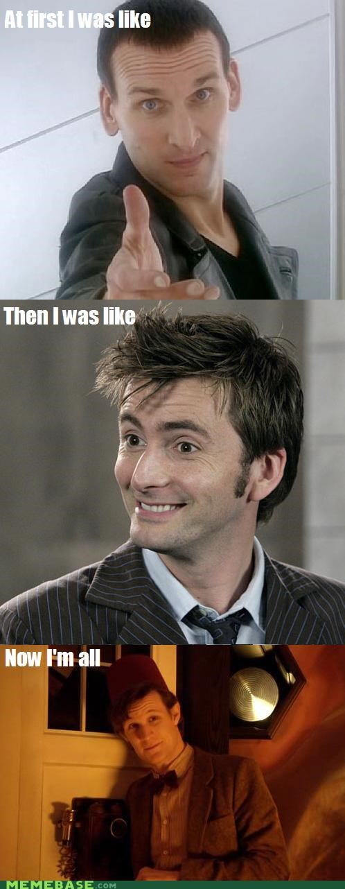 but then i,doctor who,eleven,england,Memes,ten,TV