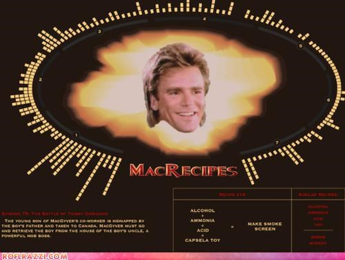 Every MacGyver Recipe EVER