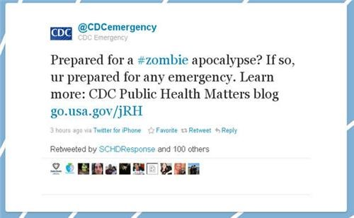 Zombie Apocalypse Alert of the Day