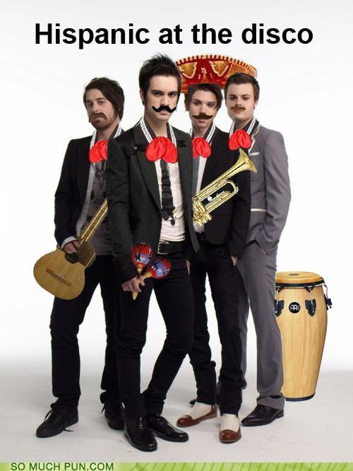 band,cheesy,godspeed-you-black-emperor,hispanic,literalism,Music,Panic at the Disco,similar sounding,terrible