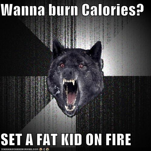 Insanity Wolf: Feel the Burn!