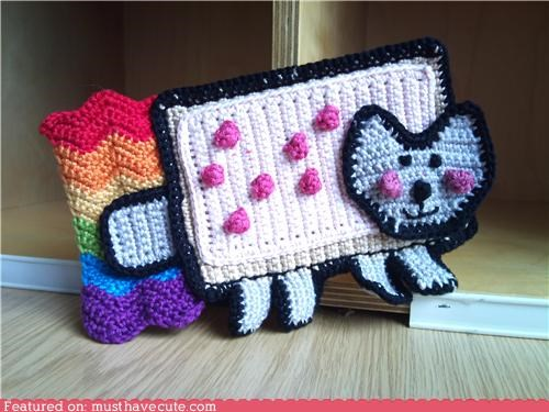 Amigurumi Nyan Cat Phone Cover