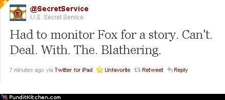 fox news,Hall of Fame,political pictures,secret service,twitter