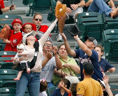 Foul Ball Mom of the Day