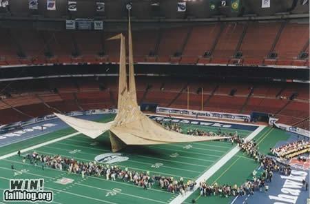 Biggest Paper Crane WIN