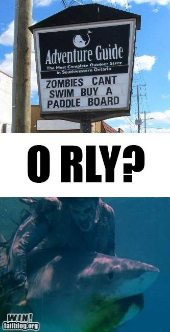 Zombies CAN Swim WIN