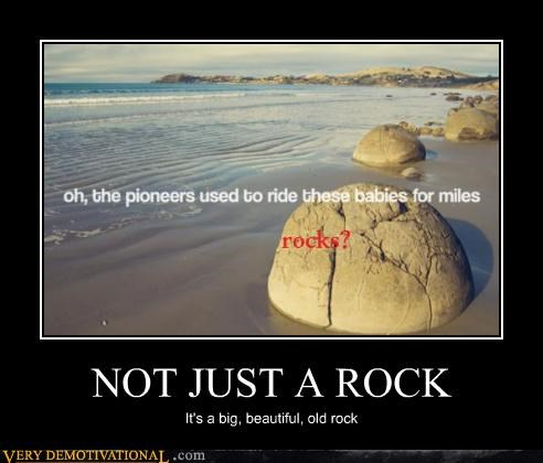 NOT JUST A ROCK