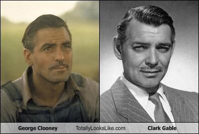 George Clooney Totally Looks Like Clark Gable