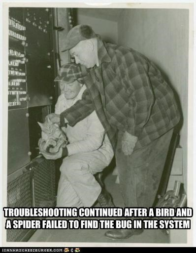 Old Timey Troubleshooting