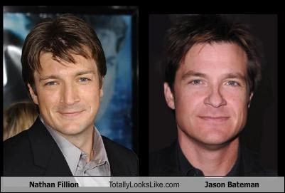 Nathan Fillion Totally Looks Like Jason Bateman