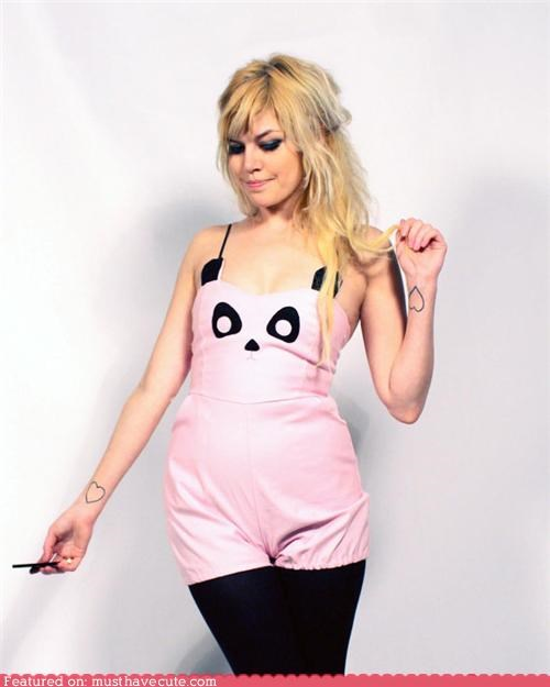 Panda Playsuit