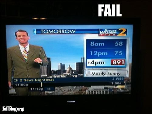 Rapture Weather FAIL