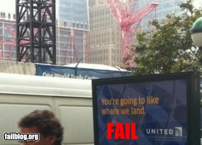 Ground Zero Ad FAIL