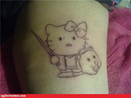 Hello Kitty Vanquishes Pedobear