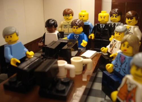 Lego Situation Room Photo of the Day
