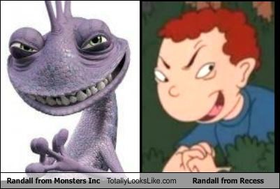 "Randall from ""Monsters, Inc."" Totally Looks Like Randall from Recess"