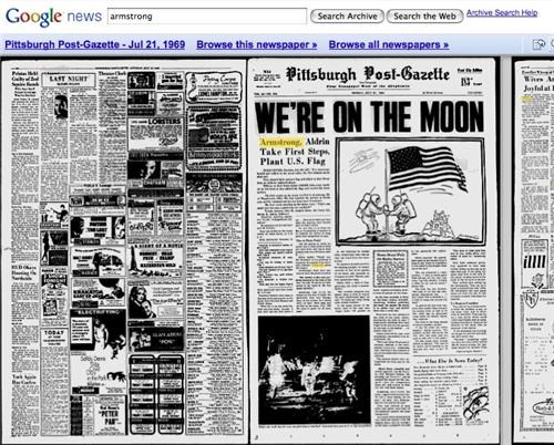 Google Quits Archiving Newspapers of the Day