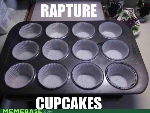 cupcakes,food,heaven,Memes,RAPTURE