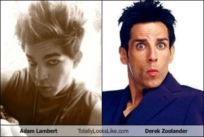 Adam Lambert Totally Looks Like Derek Zoolander
