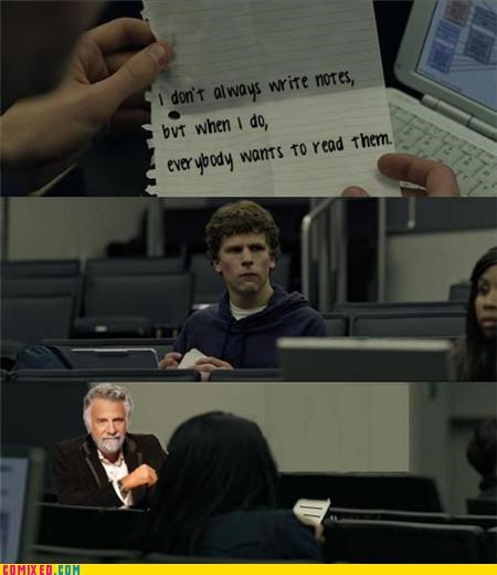 The Most Interesting Note In The World