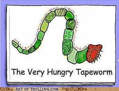 children,tapeworm,troll dad