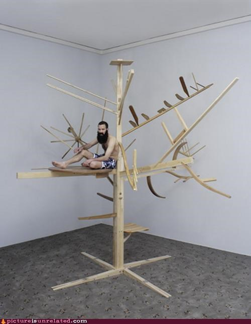 art,poor,tree house,wtf