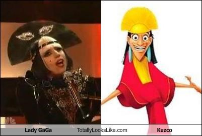 Lady Gaga Totally Looks Like Kuzco