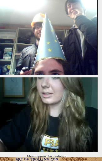 Chat Roulette,hat,princess,wizard