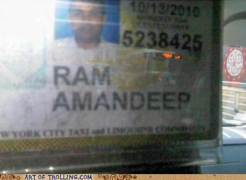 Inception,IRL,names,taxi
