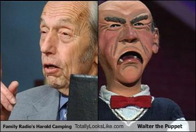 Family Radio's Harold Camping Totally Looks Like Walter the Puppet
