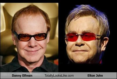 Danny Elfman Totally Looks Like Elton John