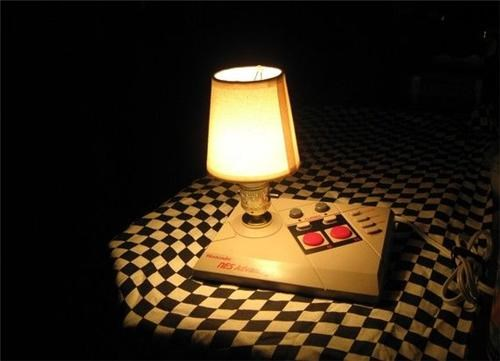 NES Joystick Lamp of the Day
