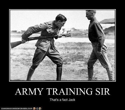 ARMY TRAINING SIR