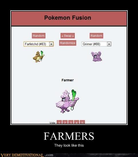 fusion,Pokémon,farmer,funny