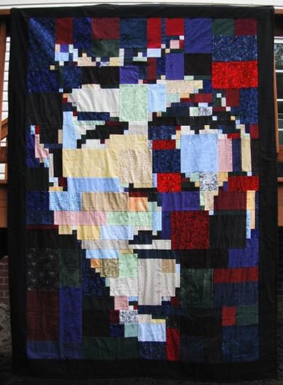 Spock Quilt of the Day