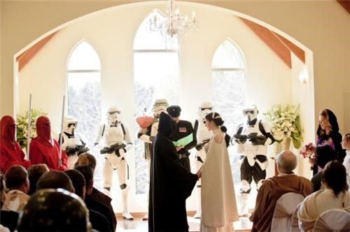 Star Wars Wedding of the Day