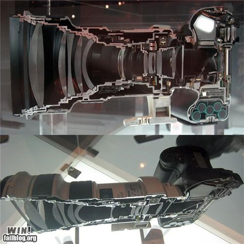 awesome,camera,cross section,nerdgasm,photography,technology