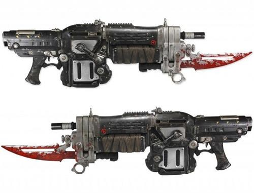 Gears of War Retro Lancer Replica of the Day