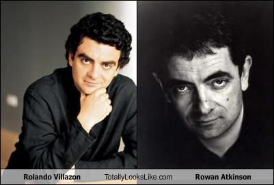 Rolando Villazón Totally Looks Like Rowan Atkinson