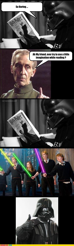 Vader Must Have Light Sabers