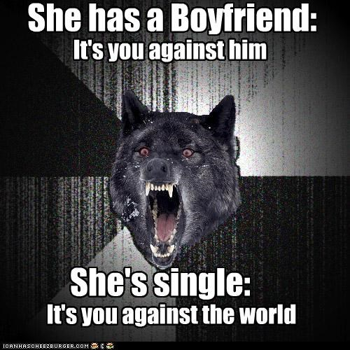 Insanity Wolf: You ARE the Seven Evil Exes